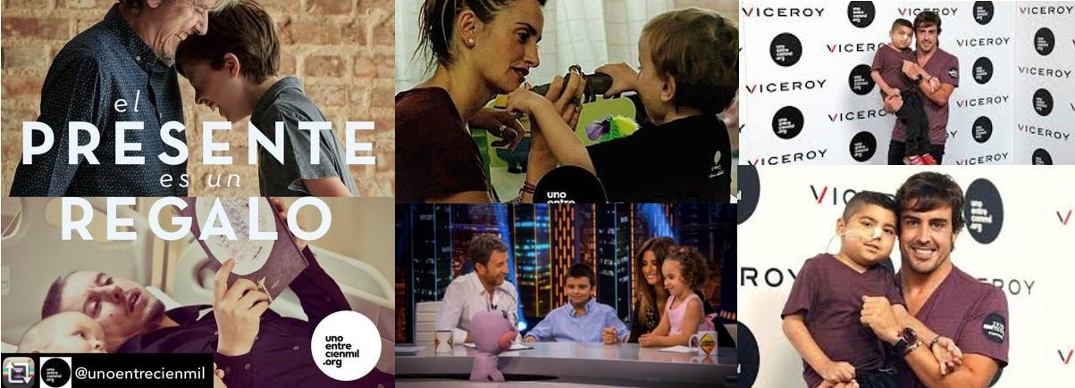 Fotos de las personas implicadas en el proyecto Viceroy 360º. Penelope Cruz, Fernando Alonso...